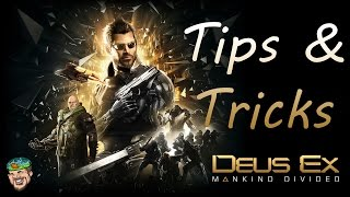 Deus Ex Mankind Divided Tips & Tricks Beginners Guide Tutorial