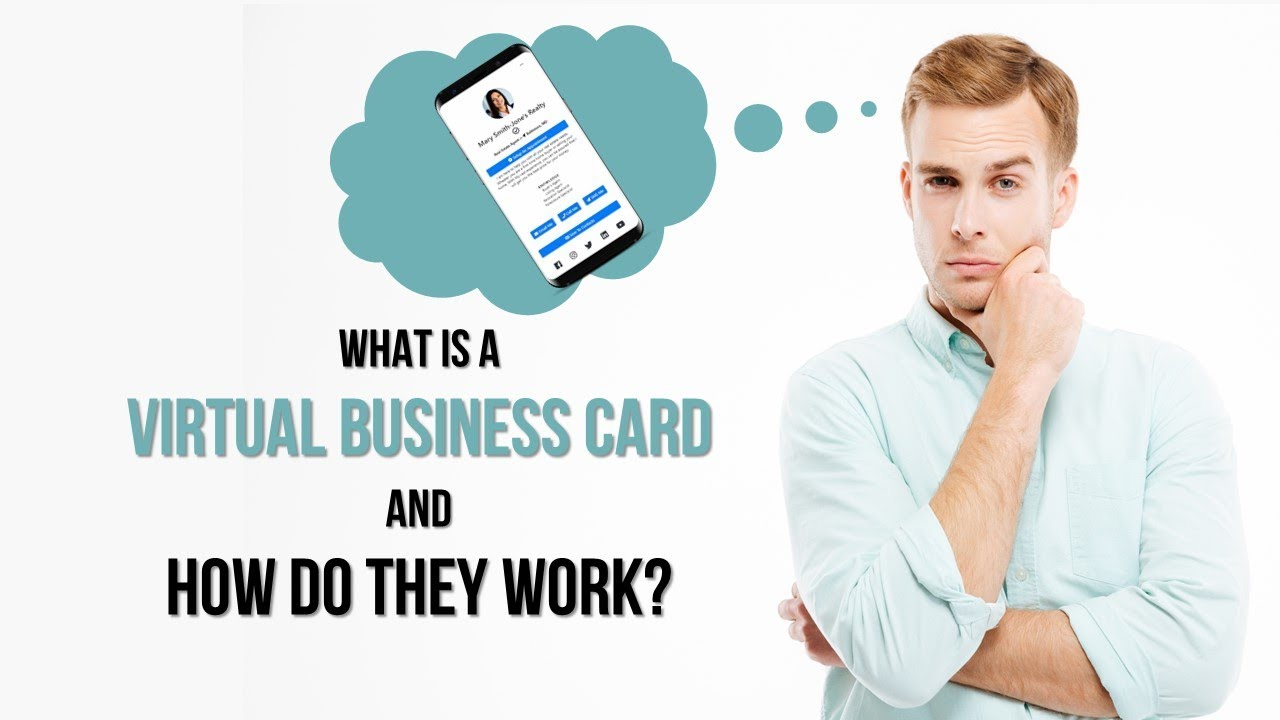 what is a virtual business card and how it work - Virtual Business Card