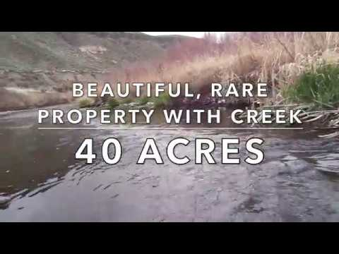 40 Acres with Creek! Rare, Beautiful Property in Malheur County, OR! Buy with Owner Financing!