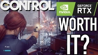 Control With RTX - Worth The Performance Hit?