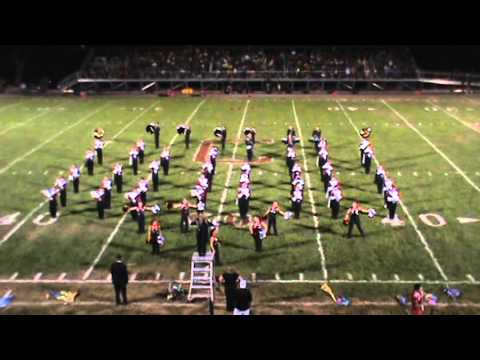 Columbiana High School 2015 marching band Sept. 4th halftime show