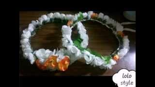 🌹اصنع طوق من الورد بنفسك🌹 (A crown of roses) مع منال