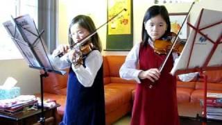 J.S. Bach Minuet 2 - Violin Duet