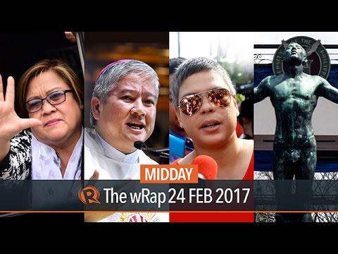De Lima arrest, Villegas vs Duterte, Project NOAH | Midday wRap