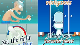 Let's Play Toilet Time - A Bathroom Game