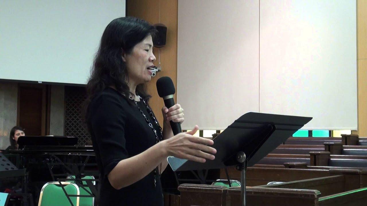 新聖詩教唱--詹麗娜牧師娘20151122 - YouTube