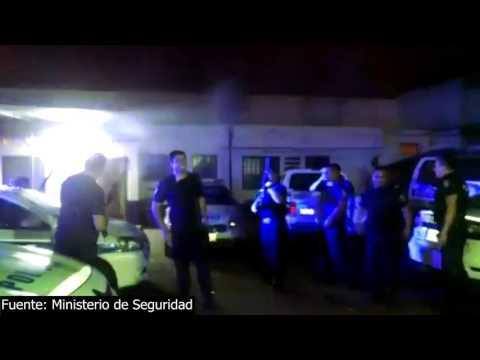 (video) MENDOZA: INVESTIGAN A POLICÍAS POR FESTEJAR NAVIDAD A LOS TIROS