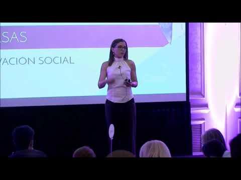 Julia Salsas / Relatora /Encuentro Internacional Mujeres Influyentes 2018 / Tema: Innovación social