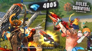 SPENDING 4000 DIAMONDS WITH NEW UPDATE Rules Of Survival Battle Royal #TopUp