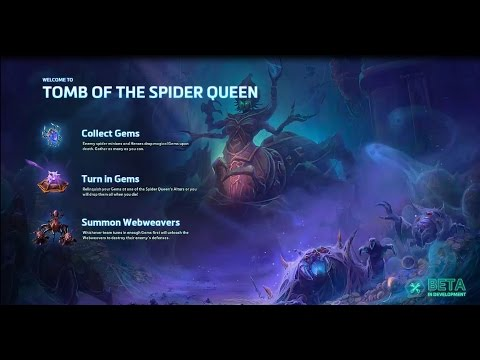 Heroes Of The Storm Ranger-General Sylvanas New Map Tomb of the Spider Queen Game Play