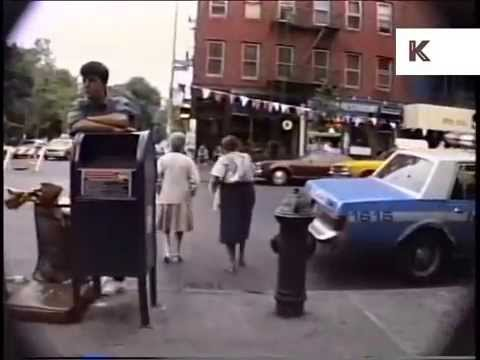 Rare 1980s New York Footage of East Village Streets