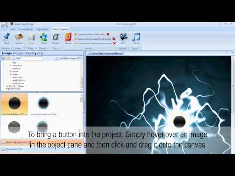 DemoPad Tutorial - 1. Creating a new blank project