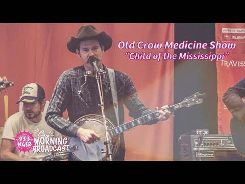 """Old Crow Medicine Show """"Child of the Mississippi"""" LIVE during SXSW 2018   93.3 KGSR"""