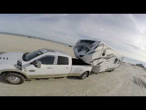 Camping, Motorcycling, Drone Flying on Padre Island