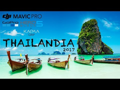 Thailand in 4K | 60fps | TRAVEL | ULTRA HD | Gopro Hero 5 & DJI Mavic Pro |