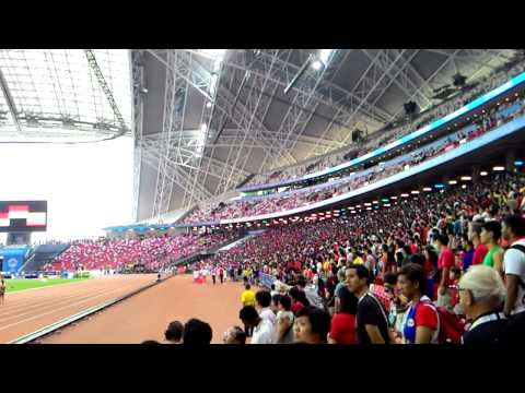 Indonesia anthem in National Stadium Singapore