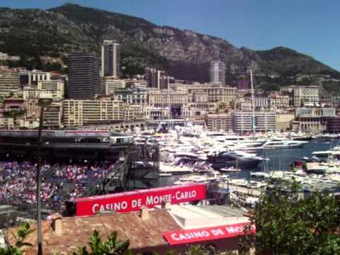 Monaco F1 celebrities
