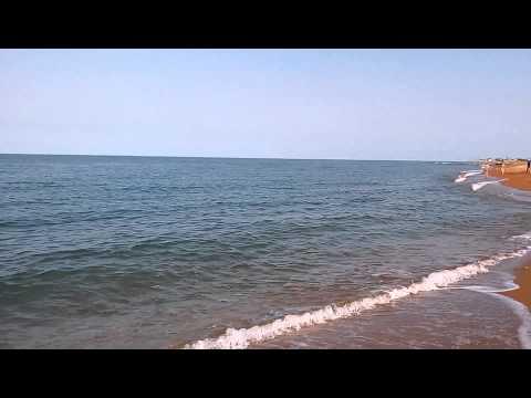 Каспийское море. г. Дагестанские Огни 16.08.2015 г