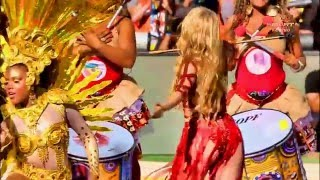 Shakira - Dare (La La La) Full HD Live Closing Ceremony Fifa Brasil 2014