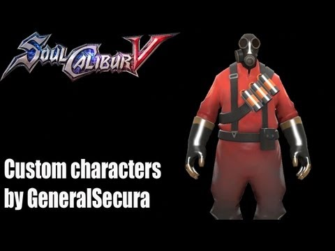 SoulCalibur V Custom Character: Pyro
