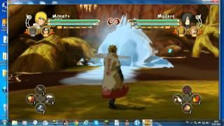 Naruto Shippuden - Ultimate Ninja Storm 3 Full Burst - Klavye ayarları