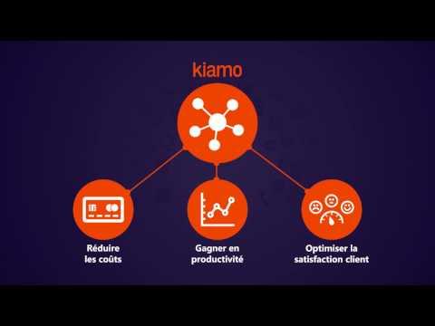 Kiamo - solution cross-canal pour centre de contacts