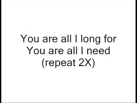 I long for you lyrics