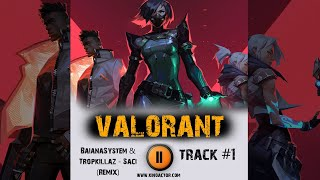 VALORANT 🎮  game tactical shooter ➤ music from the trailer ➤ 2020 OST 1 BaianaSystem Tropkillaz