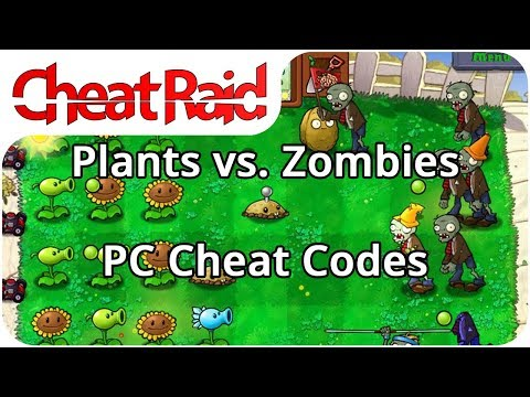 Plants Vs. Zombies Cheat Codes   PC