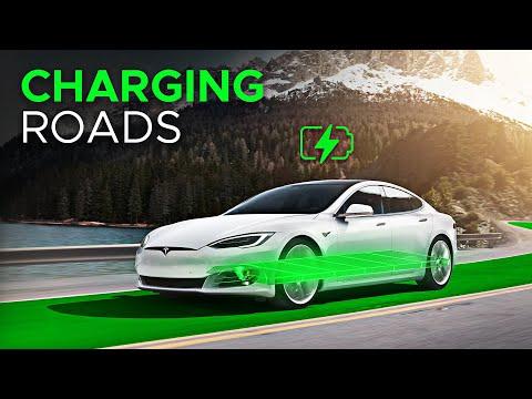 Norway's Wireless Charging Roads