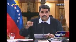 Presidente Nicolás Maduro, rueda de prensa completa con medios internacionales