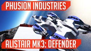 Phusion Industries: Alistair MK3: Defender! (Space Engineers)