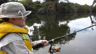 Sunday Arvo Redfin Fishing With Luke 15.2.15