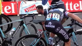 Le Tour De France Mark cavendish  Full Crash harrogate