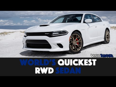 10 Quickest Rear-Wheel Drive Sedans In The World