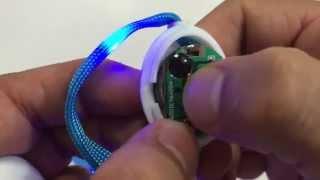 7th Generation Nylon LED Shoelaces Light Up with 10 LED beads - Unboxing