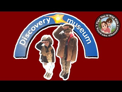 Exploring the Discovery Museum in Newcastle