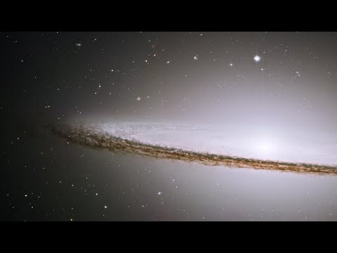 Zoom into the Sombrero Galaxy
