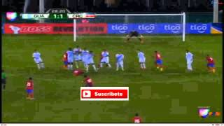 Resumen del partido Guatemala vs Costa rica final uncaf 2014