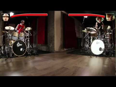 Gretsch Drums - Frenzy vs. The Beast - Battle avec Nicolas Viccaro & Yann Coste