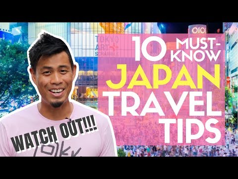 10 Must Know JAPAN Travel Tips No One Talks about ...like POLICE