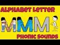 Alphabet Letter Phonic Sounds M - Easy ESL Games