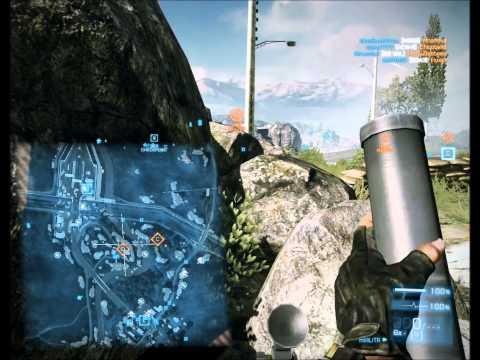 M224 Mortar Montage / Миномет fragmovie in Battlefield 3