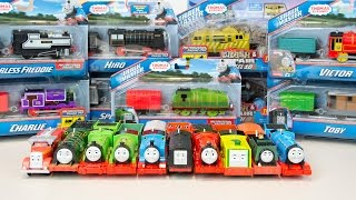 Thomas and Friends TrackMaster Train Collection Toby Bash Hiro Diesel 10 Victor Spencer and More!