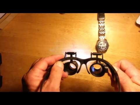 watch repair magnifying glasses