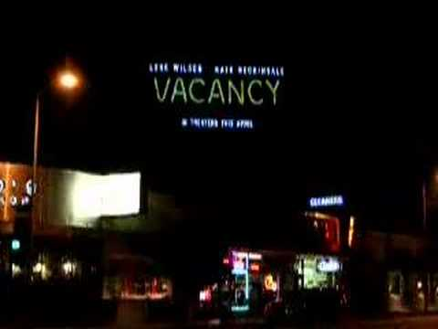 VACANCY GlowSkin Billboard - Santa Monica Blvd