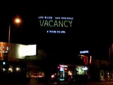 VACANCY GlowSkin Billboard - Santa Monica Blvd