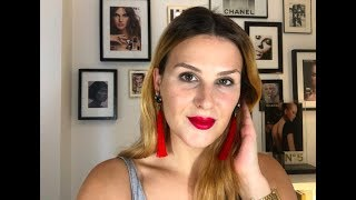 // VOGUE RED LIP TREND // Backstage Beauty from a MakeUp Pro! How to create this months VOGUE look!