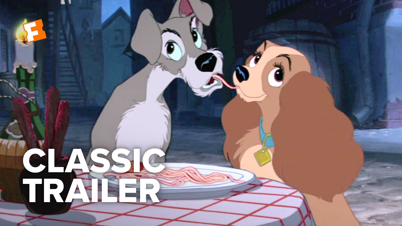 Lady And The Tramp 1955 Trailer 1 Movieclips Classic Trailers Youtube