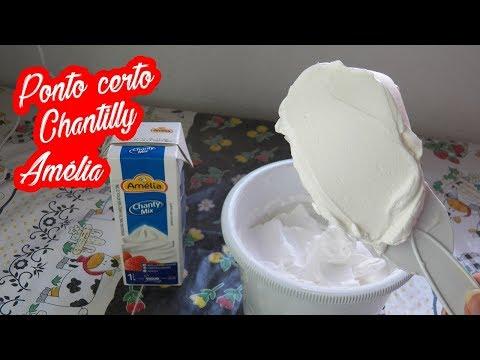 COMO ACERTAR O PONTO CHANTILLY AMÉLIA CHANTY MIX - Bru na Cozinha